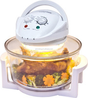 OEM 12L heat wave oven fryer with air temperature glass lid