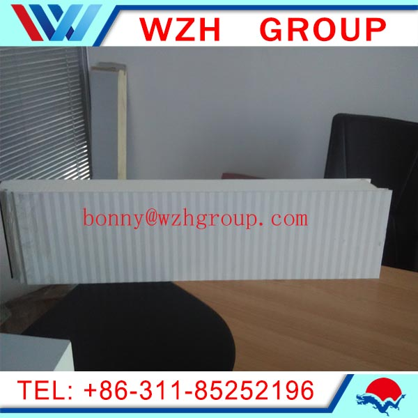 china suppliers PU / PUR insulated roof panels / wall panel with secret-nail structure