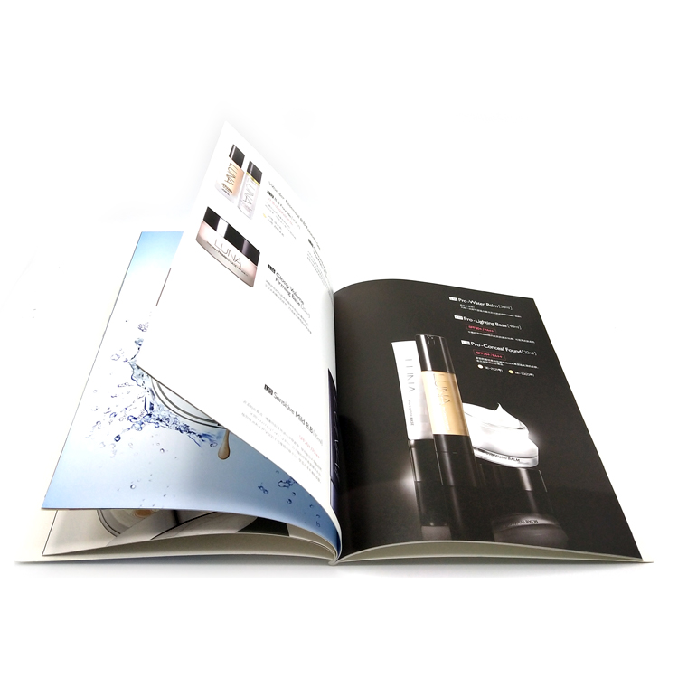 Hot sale custom high quality paper brochure / booklet / catalogue printing with factory price