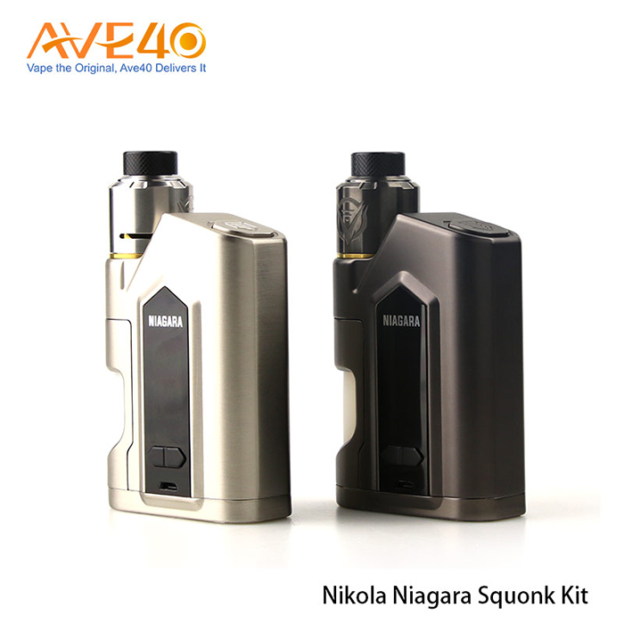 2018 new Trending Products Ave40 Wholesale Squonk Kit Original Nikola Niagara Kit vape