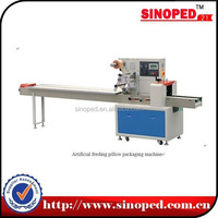 Horizontal packing machine for biscuit/bread