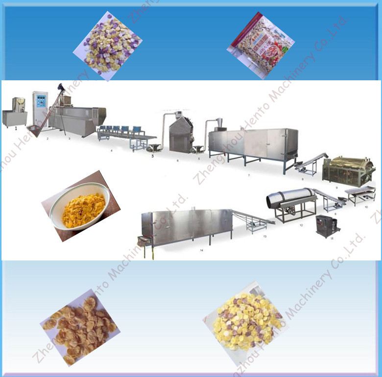 Breakfast Cereal Production Line with Factory Price