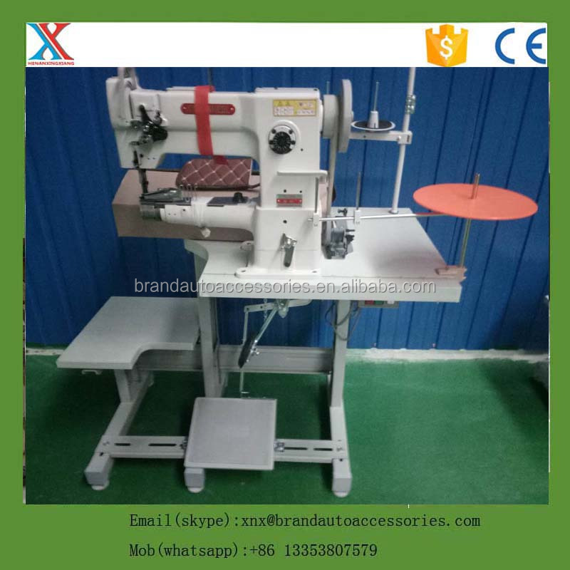 alibaba China factory double needles & singel needle car mat sewing machine