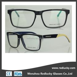 CE,FDA certificated plastic injected optical frames