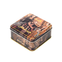 candy tin box square metal tin box tinplate sugus can packaging for sale