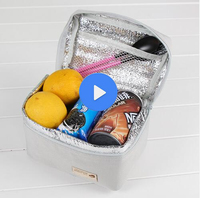 New design collapsible cooler bag fitness cooler lunch bag water bottle cooler bag with high quality