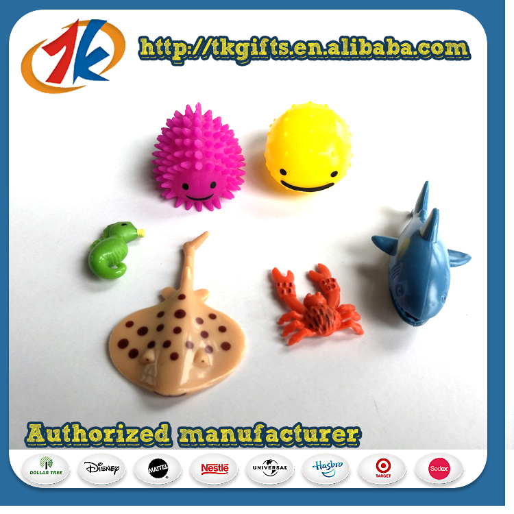 Cheap Price Promotional Plastic Small Sea Animal Toy