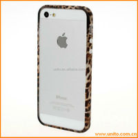 Top simple fashion hard pc case for iphone 5,Removable Colorful Frame case from China supplier