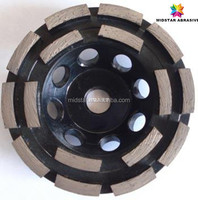 concave diamond grinding wheel for concrete/stone floor