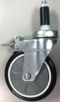 adjustable stem caster