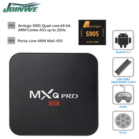 2016 newest Top TV Box MXQ Pro Android TV Box/ MXQ Plus Amlogic S905 Quad Core 4K TV Box Android/Android Media Player