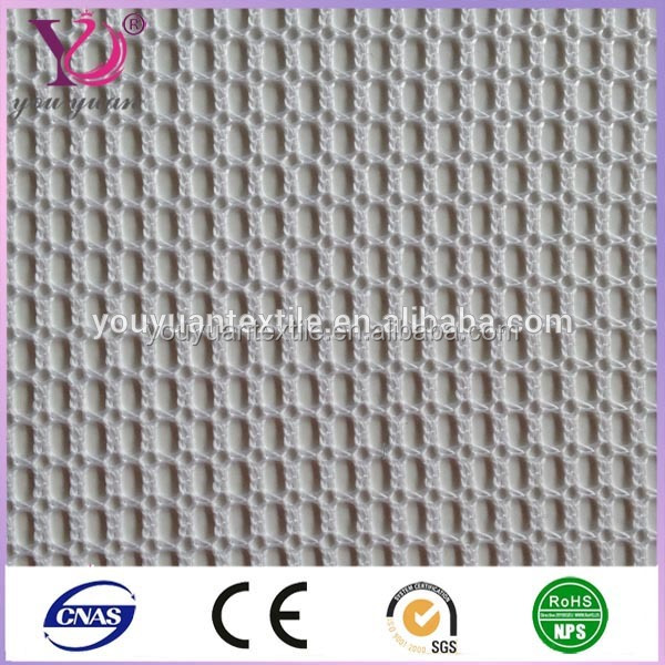 Fine knitted polyester mesh fishnet fabric for fishing nets