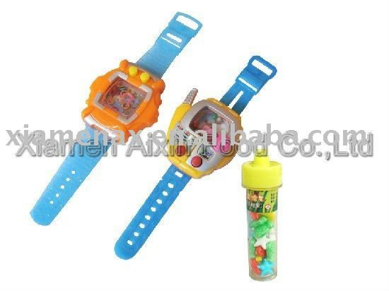 Children Watch Toy Candy