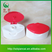 High quality 36mm hdpe bottles plastic cover , flip top cap