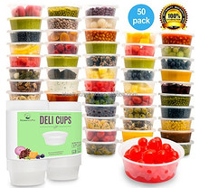 32OZ ROUND TAKEAWAY FOOD CONTAINERS DELI CUP DELI CONTAINERS 25PK