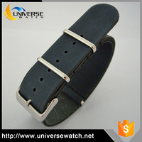 Hot Selling Beautiful Cheap Leather Nato Strap Expandable Watch Bands