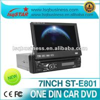 lsqstar one din 7 inch car dvd player with gps+bluetooth+rds+radio+tv+sd+usd
