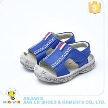 Latest fashion children shoes design soft leather sandal shoes for kids boy