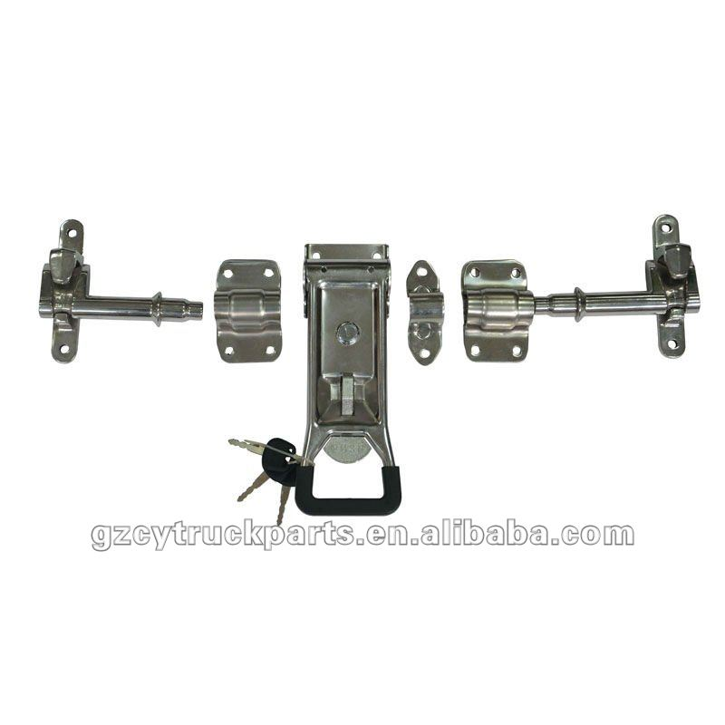 flush door lock/truck box lock/refrigerated truck body spare parts/fittings