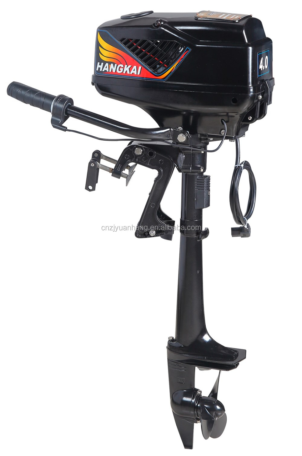 China 1000w 48v brushless electric outboard engine for Hangkai 3 5 hp outboard motor manual
