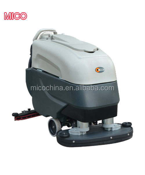 double motors double brush floor scrubber pads