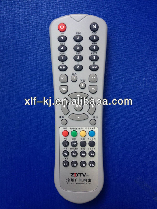 One for all codes satellite receiver universal tv remote control IPTV/STB remote control