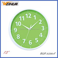 "13"" quartz modern decor wall clock"