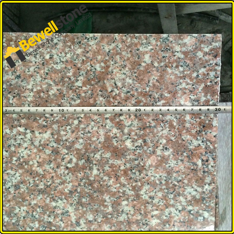 China Own Quarry Flamed Red Granite Tile Flooringfl On: Precut Poished G687 Cheap 24x24 Granite Tile