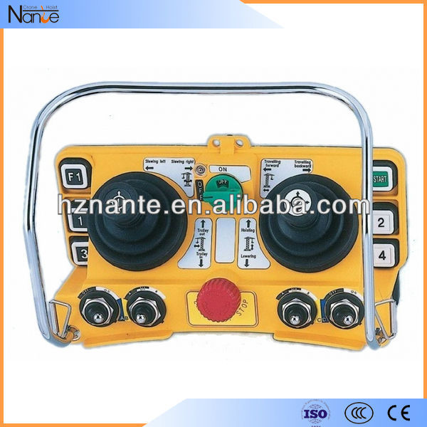 Crane Radio Joystick Remote Control, Low Power Consumption