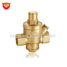 Brass winth spring piston pressure reducing valve