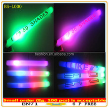 Factory Direct Sales Logo Pritned Led foam glow stick