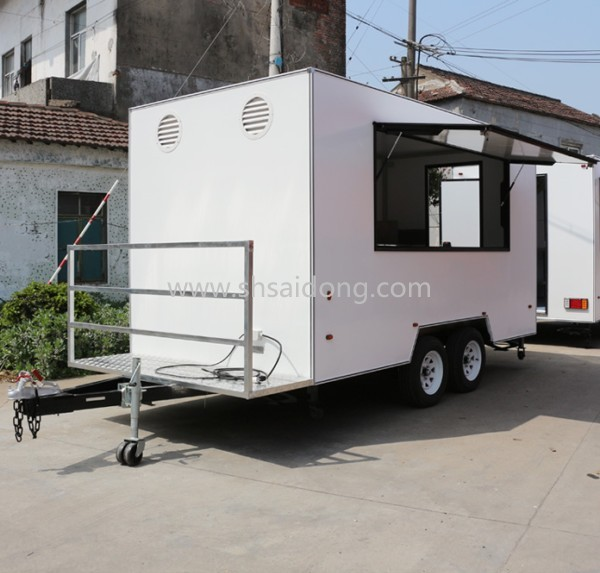 Top Selling Street Vending Cart/mobile food cart tricycle/mobile kitchen van