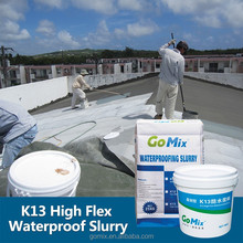 Non Crack High Bend and Flexible Elastic K13 Polymer Waterproof Roof Coating