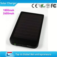 2600mah mini solar charger for iphone