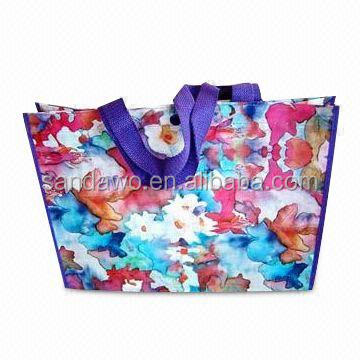 Non-woven,80gsm non woven Material and Handled,foldable bag Style give away shopping bags