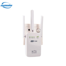 Wall Plug AC750 Dual Band 2.4G & 5G Wireless Wi-Fi AP Repeater Router Wifi antenna Signal 750Mbps Extender Booster