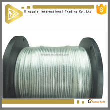 7x19 JiangSu Galvanized Wire Cable