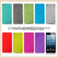 Shock and Scratch resistant soft tpu case for ipad mini,wholesale for ipad mini case