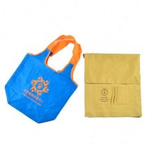 top quality New recycle new design flower folding shopping bag