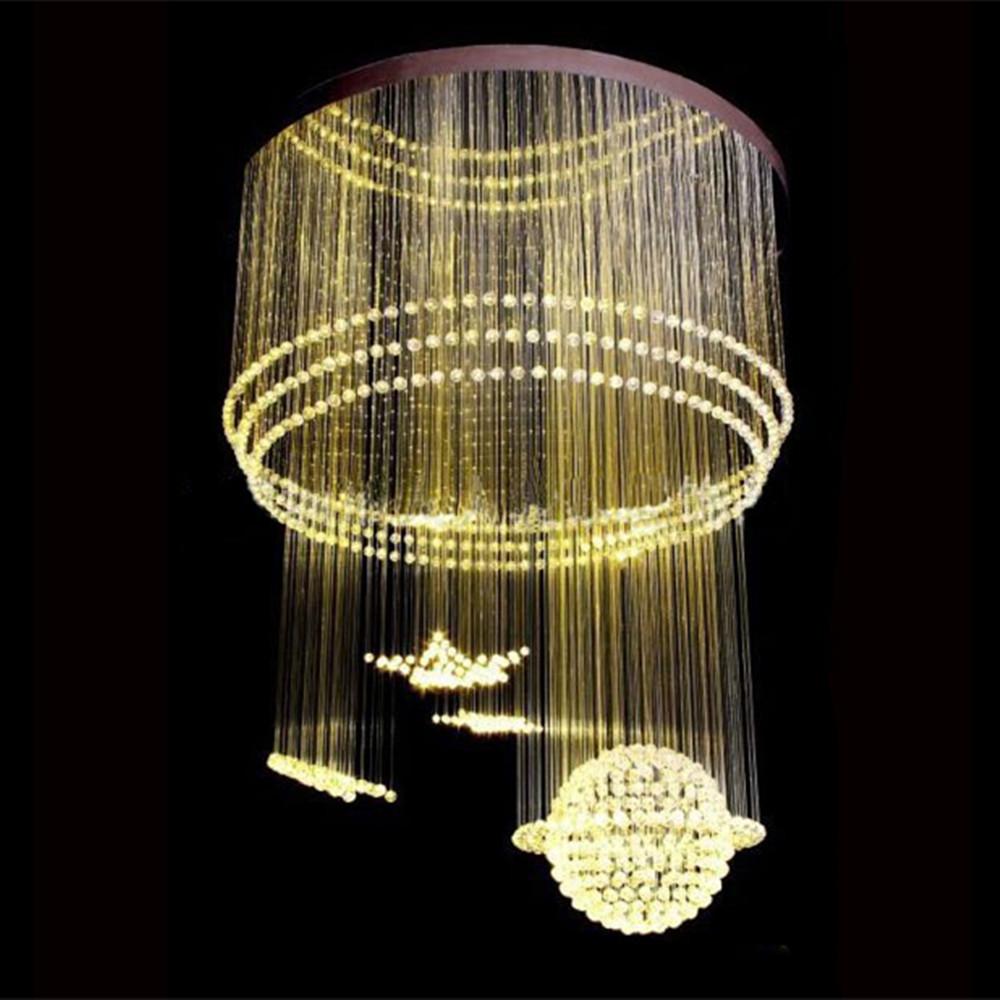 Soffitto Led Rgb: Lampada a sospensione led in alluminio con ...