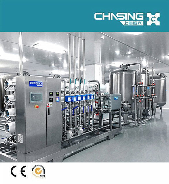 Shanghai chasing EDI water treatment plant for chemicals,cosmetic