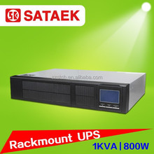 1000VA long-run model 19 inch rack mount ups with battey pack online ups 110V 220V