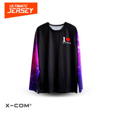 X-COM 100% Polyester Breathable Custom Digital Printed Sport Clothing Ultimate Frisbee League Jersey