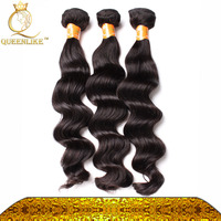 Cheap indian Loose Wave Remi Human Hair Weave