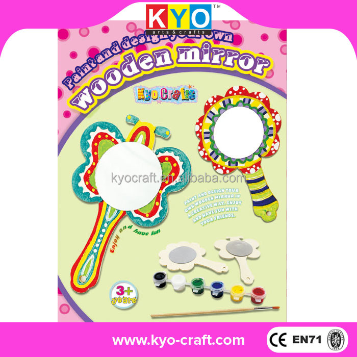 KYO professional DIY wood craft kits for kids