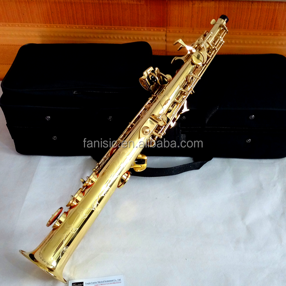 two necks straight soprano saxophone for students