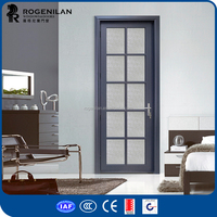 ROGENILAN kitchen entry doors hinges for glass interior doors with glass inserts