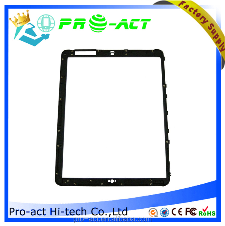 Touch Digitizer Plastic Middle Frame Bezel Screen Support for Apple iPad