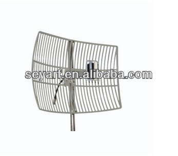 (Factory)Wifi Antenna Subscriber Parabolic Antenna 2371-2523MHz 24dBi High Gain