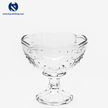 High Quality Delicate Glass Ice Cream Cup For Any Dessert